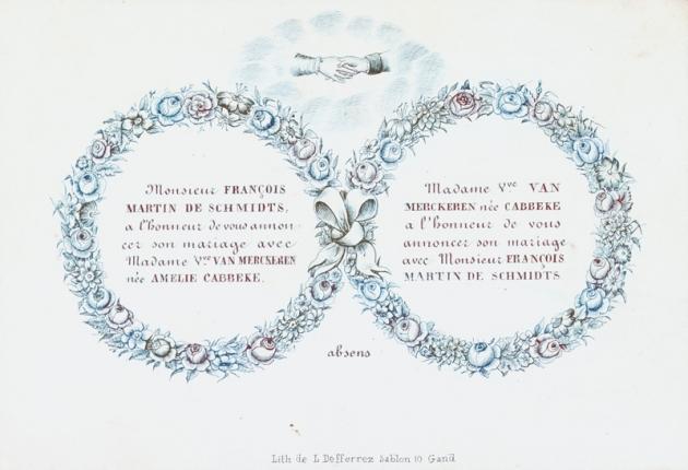 Huwelijkskaart