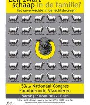 Congres Familiekunde Vlaanderen 2018