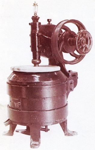 Eerste gebouwde machine - 1911