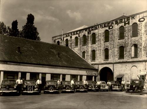 Alle vertegenwoordigers met auto - 1955