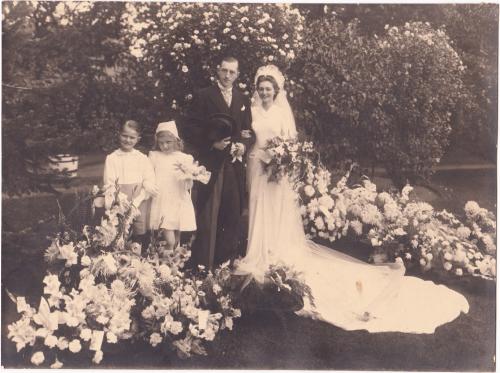 Huwelijk van Emile D'hooge met Marina De Bruycker