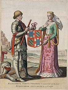 650 jaar huwelijksverjaardag van Margaretha van Male & Filips de Stoute - Gent 1369-201901