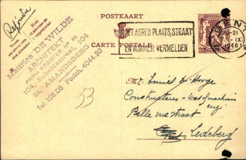 Brieven en briefkaarten als bron voor stamboomonderzoek